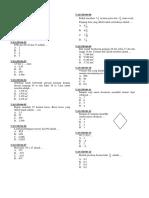 SD - Matematika 2006