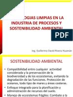 Tecnologias Limpias en La Industria de Procesos y Sostenibilidad Ambiental v1