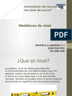 Medidores de Nivel 041216