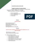 Rreglamento Nacional de Edificaciones