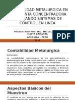 CONTABILIDAD METALURGICA EN UNA PLANTA CONCENTRADORA EMPLEANDO SISTEMAS.pptx
