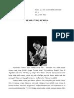 Biografi w.s Rendra