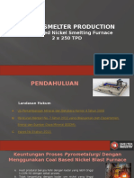 Nickel Smelter Production