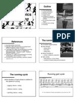 Biomehaniks of Running