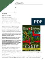 Artore.org-Rêves de Solentiname Exposition