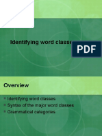 Syntax Lexcial Categories