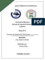 Proceso de Integración en La Gestión Multicanal (Autoguardado)