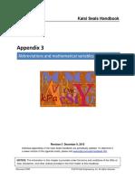Appendix 03 Abbreviations and Mathematical Variables