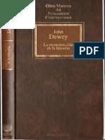 Dewey, John - La Reconstrucción de La Filosofía