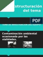 contaminacion ambiental ocacionada por vialidades