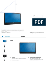 Inspiron 24 3459 Aio Reference Guide en Us