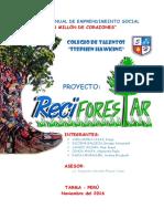 Informe Del Proyecto Reciforestar