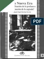 La Nueva Era Sacralizacion de lo Profano o Profanacion de lo Sagrado Miguel Angel Sanchez Carrion.pdf