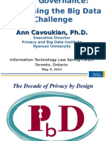 Data Governance Cavoukian