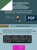 Desarrollo Flujos Efectivos Relevantes Analisis Caso