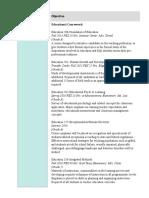 Ed 300 Resume