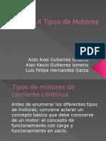 2.4 Tipos de Motores