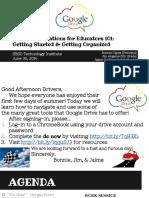 google drive 101 presentation