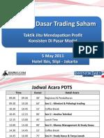 PDTS1 Trading Saham