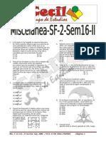Miscelanea Sf2 Sem16 II Sc