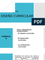 Lección 8 Diseño Curricular