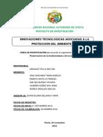 Proyecto de Investigacion Tic .. ing f. ambiental