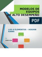(612779003) Modelos de Equipos de Alto Desempeño
