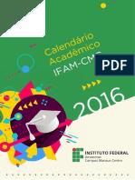 Calendario Academico Ifam Cmc 2016