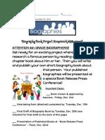 biographyprojecthomeworkassignment