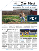 The Daily Tar Heel for Dec. 5, 2016