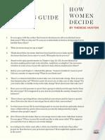 How Women Decide Guide Final