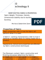 Chapter 5 Fabric Properties