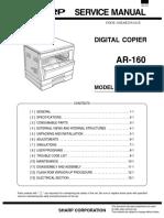(2) AR205 Service Manual