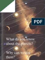 Solar System Presentation 3rd Grade