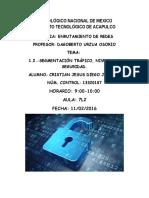1.2.-Segmentación Tráfico, Niveles de Seguridad.