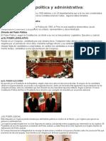 Organización Política y Administrativa (1)