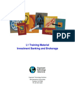 1- Investment Banking and Brokerage