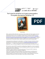 HV7-43  Participación de Bolívar en la gesta emancipadora 2