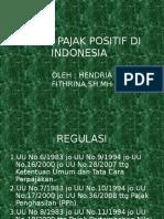 Hukum Pajak Positif Di Indonesia