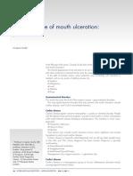Making Sense of Mouth Ulceration 5