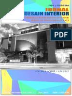 Jurnal Desain Interior Volume 2