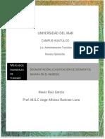 Segmentación; clasificaciòn de segmentos basada en el ingreso