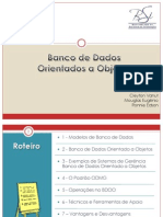 Banco de Dados Orientado a Objetos