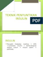 Teknik Penyuntikan Insulin