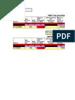 Funnel Zone Calc