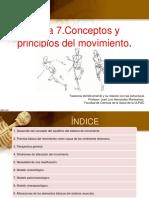 Tema 7. Conceptos Principios Básicos Del Movimiento.