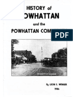 History Powhattan by Leon Wenger 1986 Adobe SNK