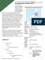 Gempa Bumi Dan Tsunami Sendai 2011