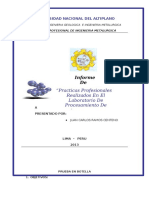 Informe. cajabamba