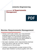 REQ17 - Review of Requirements Management